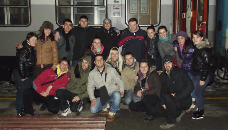 Размена на студенти: Егеа Скопје/Егеа Белград, дел во Белград