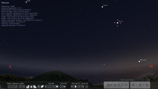 Набљудувајте го ноќното небо кога сакате и од каде сакате преку Stellarium