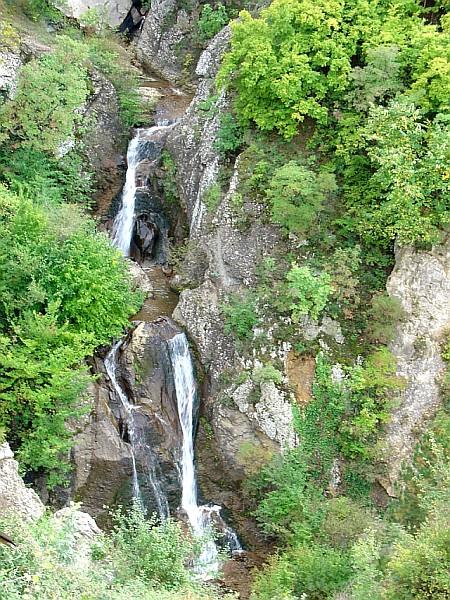 Водопадите на Бабакарина Река кај Кратово