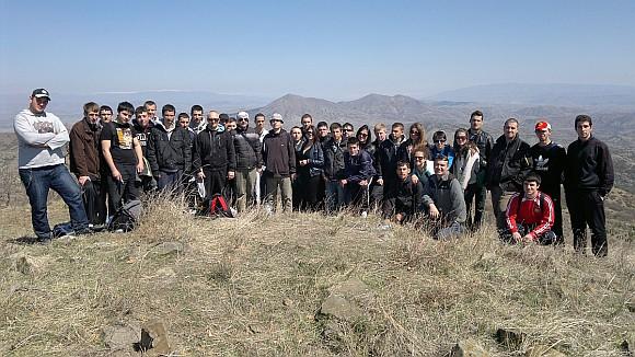 Еднодневна теренска настава со студентите до ридот Иланџа