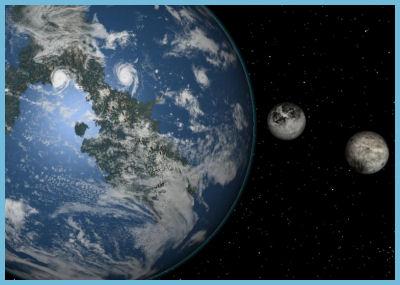 Месечината не е единствен природен сателит на Земјата