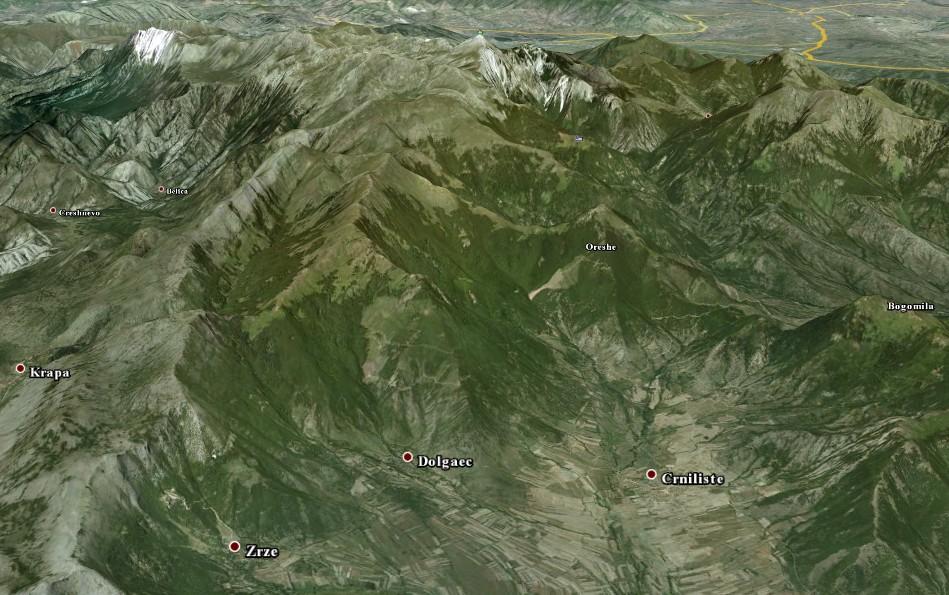 Убавините на Зрзе – село во прегратките на Даутица