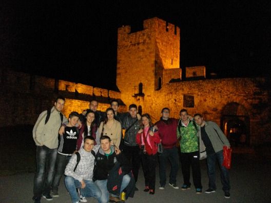 Размена на студенти помеѓу Егеа Скопје и Егеа Љубљана, прв дел во Словенија