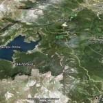 Прекрасното село Ниќифорово покрај брегот на Мавровското Езеро