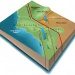 Сан Андреас - еден од најдолгите раседи на Земјата