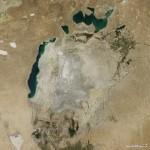Некогашното Аралско Езеро (Море) речиси целосно се претвори во пустина!