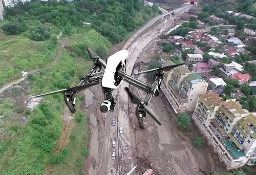 Примена на дроновите како средство за интервенција при земјотреси