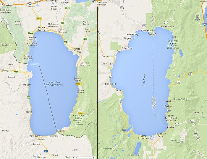 """Охридското Езеро има свој неверојатен """"двојник"""" на другиот крај на Светот!"""