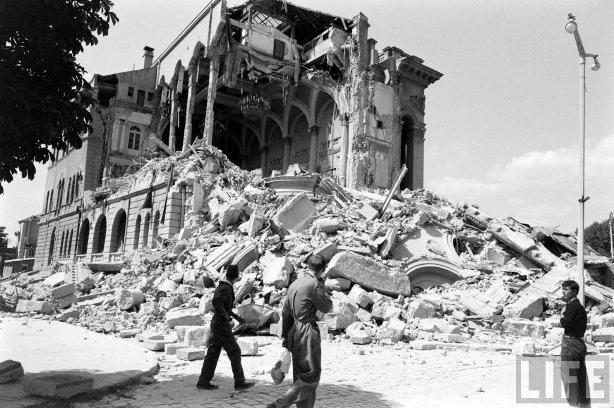 Скопскиот земјотрес и Пикасо