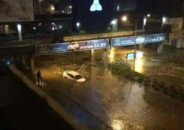 Кои се причините за големата поплава на делови од Скопје, вечерта на 6.08.2016 година?
