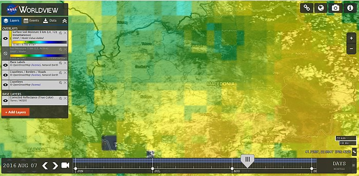 Worldview – прикажувач на глобални тематски сателитски снимки во реално време!