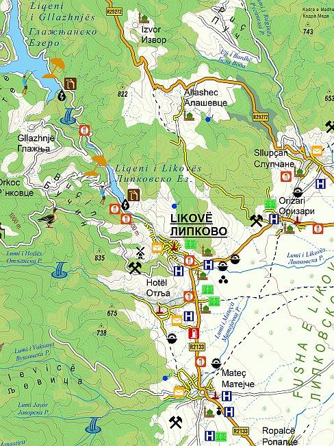 Изработени современи дигитални и печатени туристички карти за општината Липково