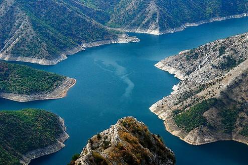 Необичната убавина на езерото Козјак