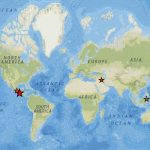 Најсилните земјотреси во светот во 2017година и краток осврт на Дојранската серија земјотреси!