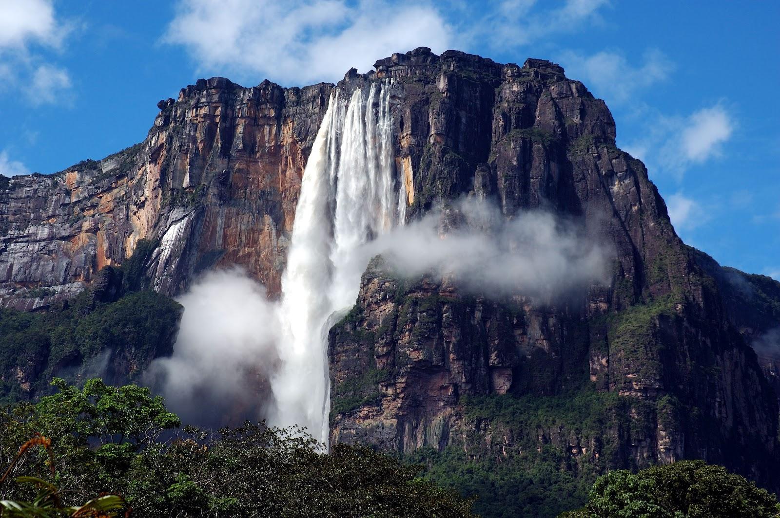 Ангелски Водопад – највисокиот водопад во светот