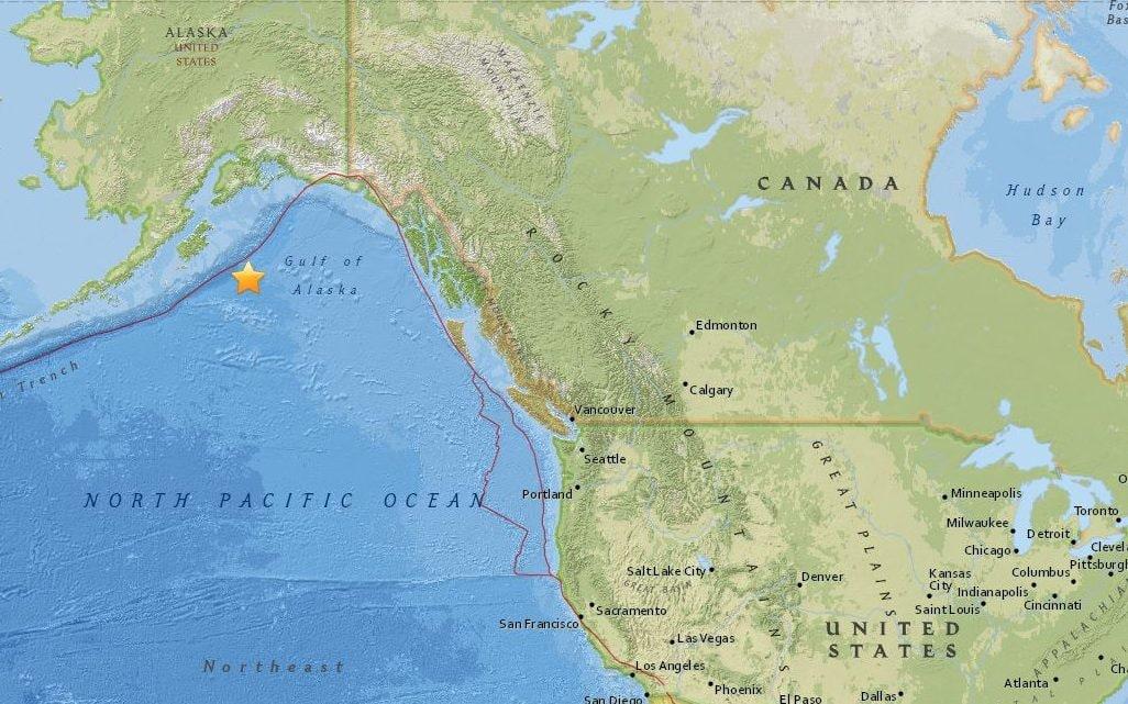 Разорен земјотрес ја погоди Алјаска