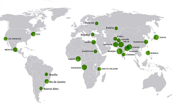 За преместувањето на главните градови во светот!