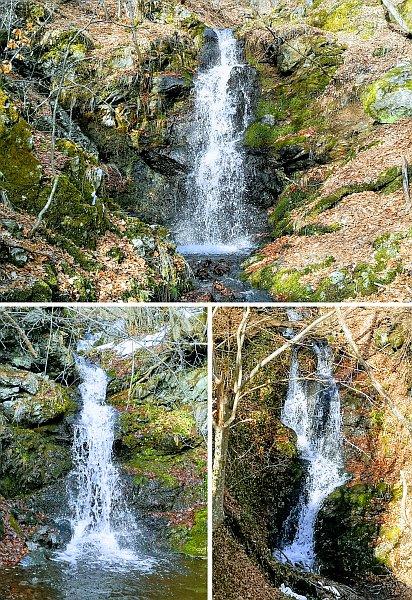 За водопадите кај с.Бродец на Скопска Црна Гора