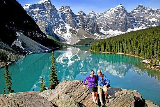 Моренското Езеро и Езерото Луиз во Канада – меѓу најчистите во светот!