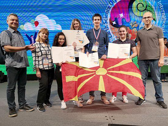 Одличен настап на македонскиот тим на 13-та Светската Олимпијада за геонауки, IESO-2019