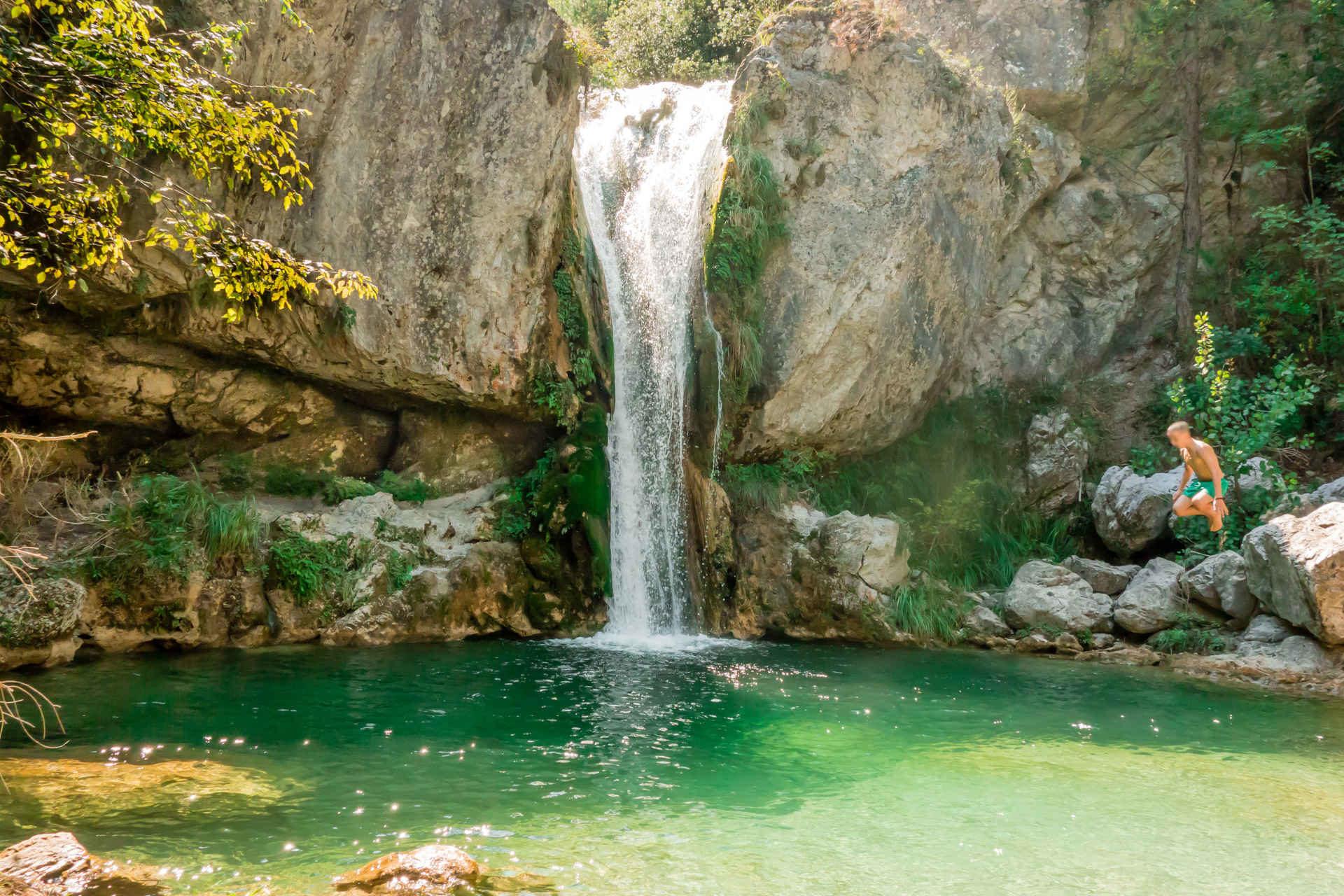 Орлиас – интересни водопади на планината Олимп