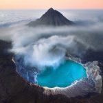 Кавах Ијен – синиот вулкан